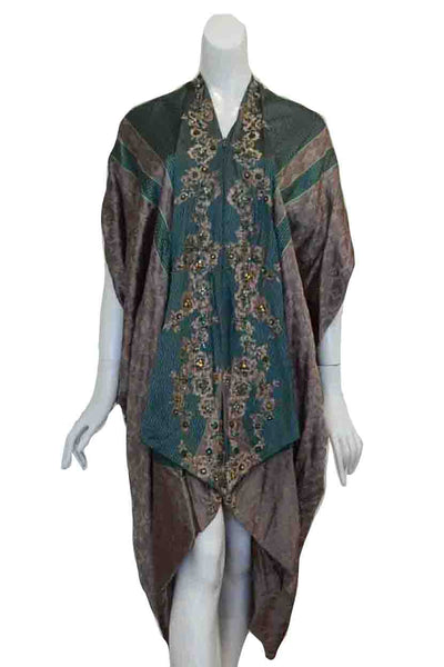 Rent: Windy Chandra - Green Kaftan Dress