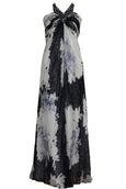 Rent : Allegra Paris - Halter Neck Evening Dress