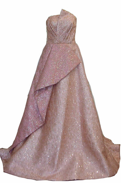 Rent: Gisela Privee - Strapless Sparkly Gown