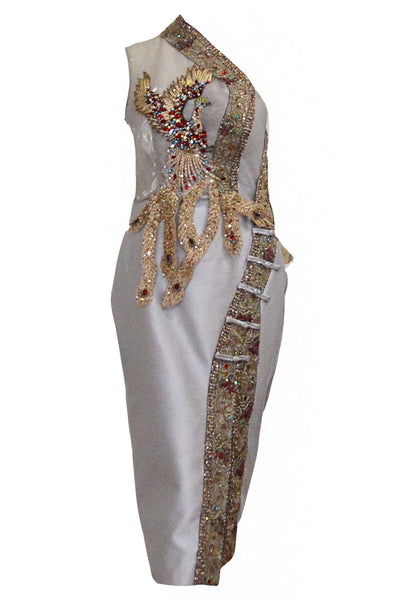 Rent : Private Label - Embroidery Cheongsam Dress