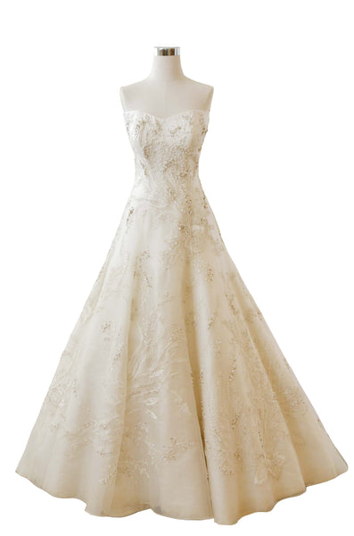 Rent: Biyan - Sweetheart Beaded Wedding Gown