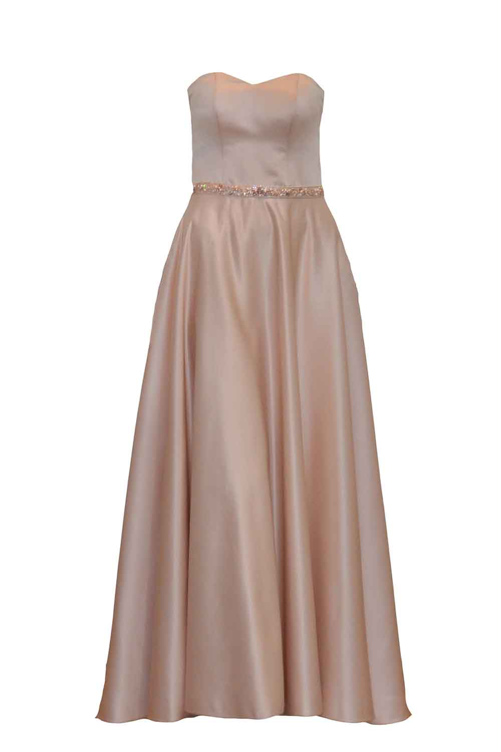 Sale:  Gisela Privee Nude Tube Dress