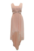 Rent: Decode Peach Chiffon High Low Dress