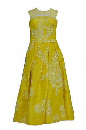 Rent : Didi Budiardjo Yellow Cocktail Dress