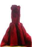 Buy: Felita Wirawan Red Strapless Gown