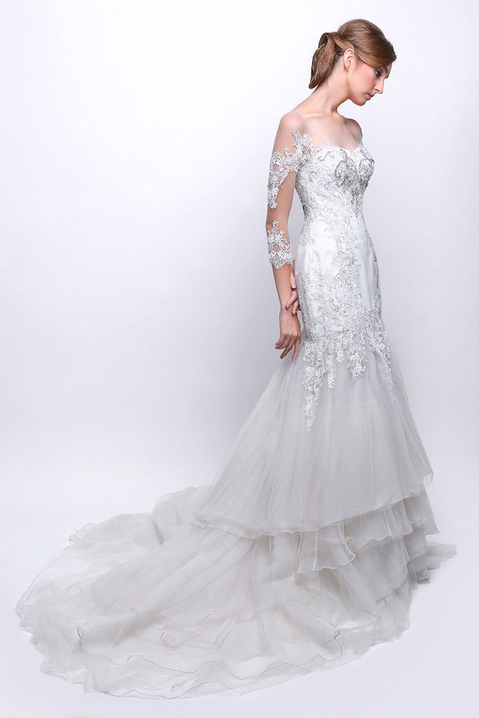 Ferry Sunarto - Buy: Off Shoulder Mermaid Wedding Gown-The Dresscodes - 1