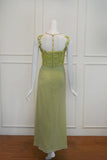 Sale: Fluorescence Green Pastel Chiffon Dress