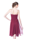 Foley + Corinna - Rent: Foley Corina Maroon Hollywood Dress-The Dresscodes - 3