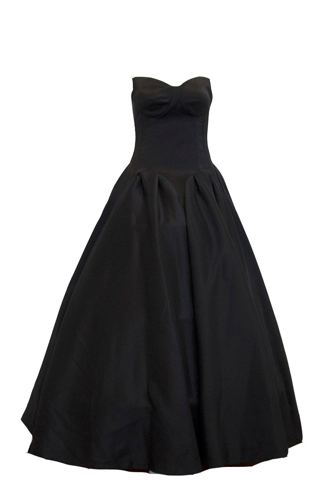 Rent: Gisela Privee Black Ball Gown