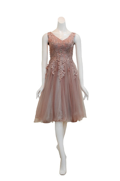 Rent: Gisela Privee - Dusty Pink Tulle Dress