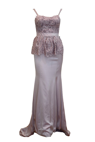 Buy: Gisela Privee Lilac Mermaid Dress