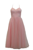 Rent: Gisela Privee Pink Backless Tulle Dress