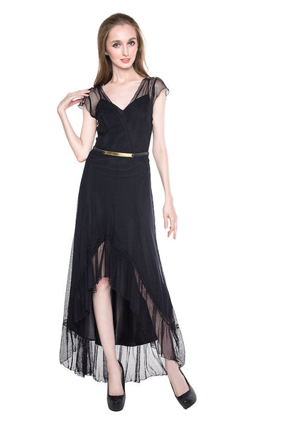 Guess LA - Buy: Hi-Lo Black Dress-The Dresscodes - 1