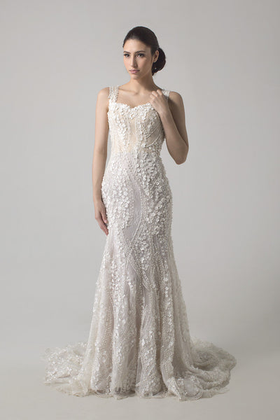 Hian Tjen - Rent: Jane Convertible Wedding Gown - Mermaid-The Dresscodes - 1