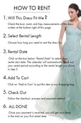 Lucy Harli - Rent: Lucy Harli Blue Sweetheart Mermaid Gown-The Dresscodes - 2