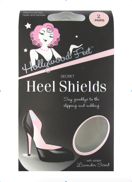 Hollywood Fashion Secrets - Secret Gel Heel Shields-The Dresscodes - 1