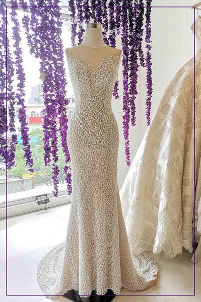 Rent: YEFTA GUNAWAN Convertible Beaded Mermaid Gown