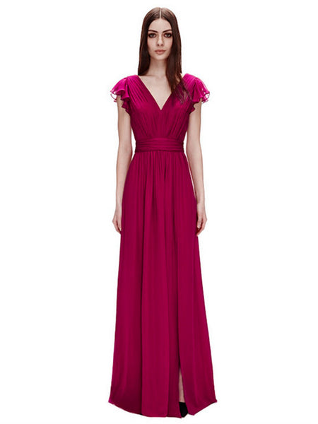 Jill Stuart - Rent: Jill Stuart Penelope Flutter Sleeves Dress-The Dresscodes - 1