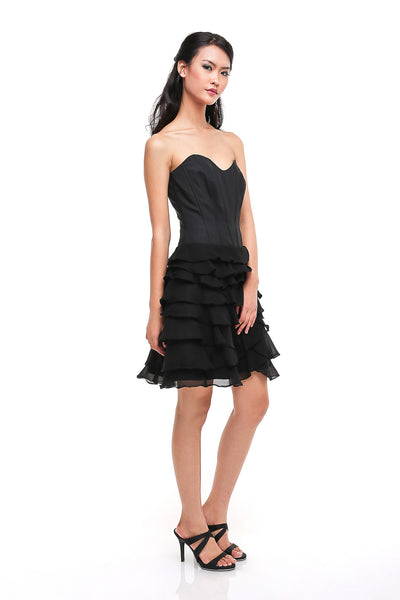 Karen Millen - Buy: Karen Millen Sweetheart Dress with Ruffled Skirt-The Dresscodes - 1