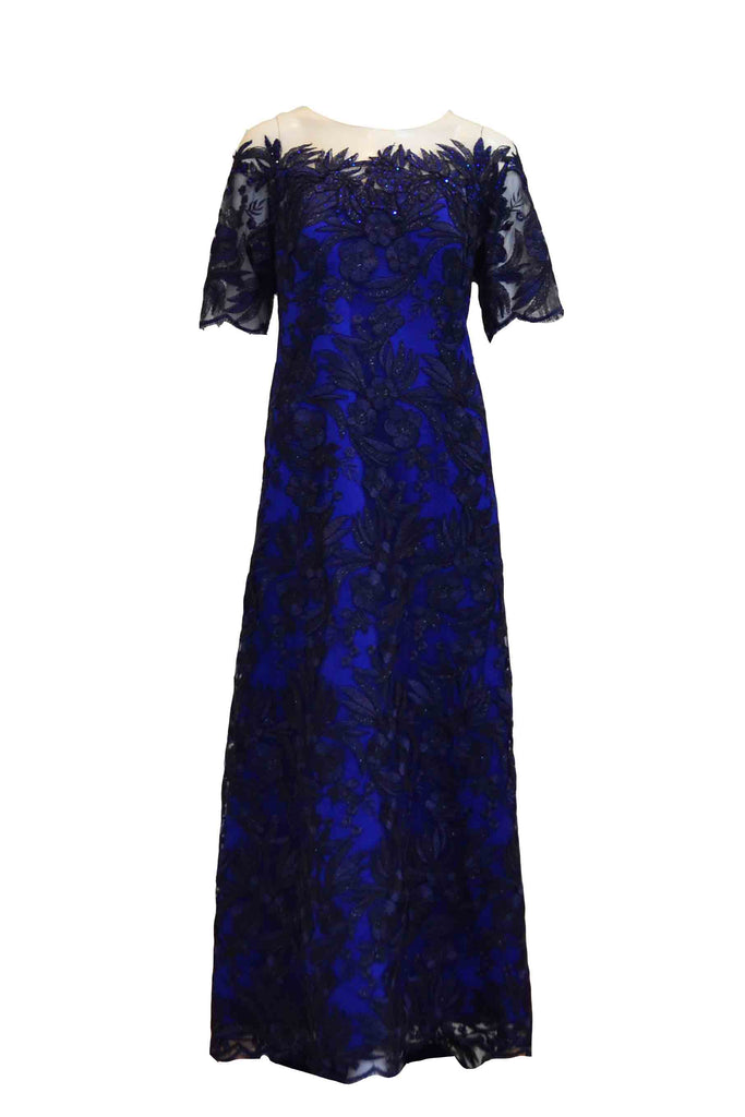 Rent: Lanny - Dark Blue 3/4 Sleeveless Gown