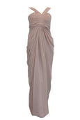 Rent : La Demoiselle - Pink V Strap Bridesmaid Gown