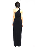 Laundry by Shelli Segal - Rent: Laundry By Shelli Segal One Shoulder Black Maxi-The Dresscodes - 2