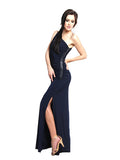 Laundry by Shelli Segal - Buy: One Shoulder Jersey Maxi Dress-The Dresscodes - 2