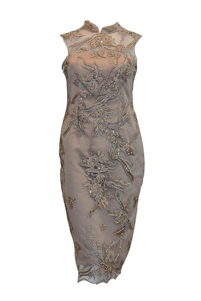 Rent: Lidia Chen - Dusty Pink CheongSam Dress