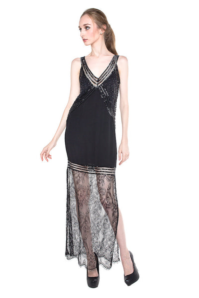 Magali Pascal - Buy: French Muse Beaded Dress-The Dresscodes - 1