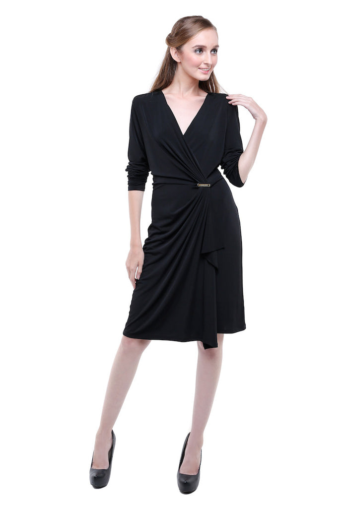 Michael Kors - Rent: Michael Kors Black Knit Dress-The Dresscodes - 1
