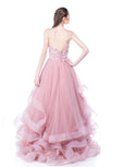 Monica Ivena - Rent: Pink Ball Gown-The Dresscodes - 2