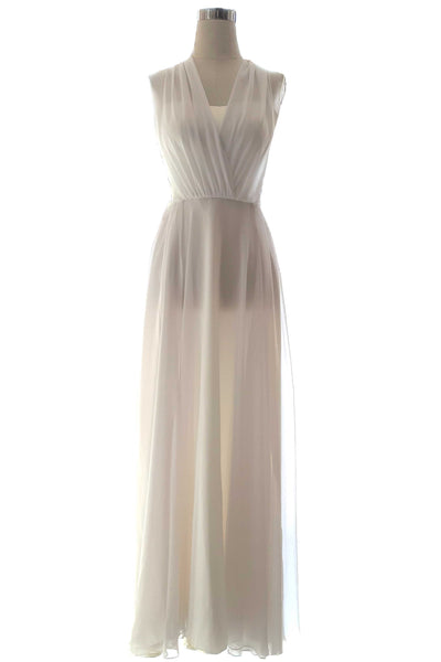 Rent : Private Label - White Convertible Bridesmaids Dress
