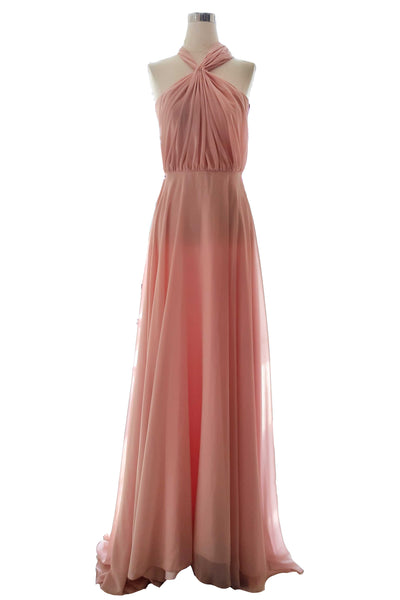 Buy : Private Label - Pink Convertible Bridesmaids Dress