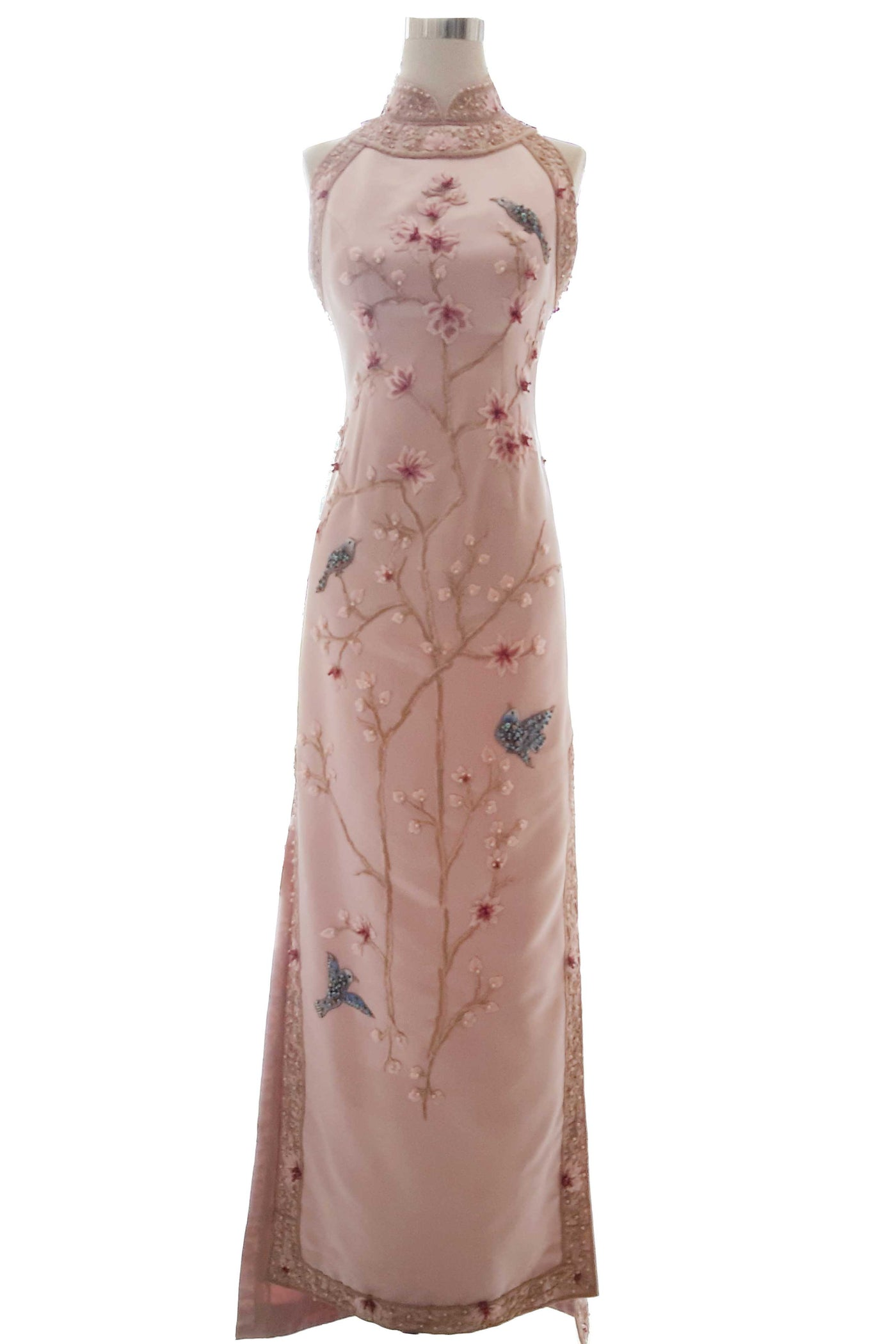Rent : Private Label - Pink Cheongsam Dress