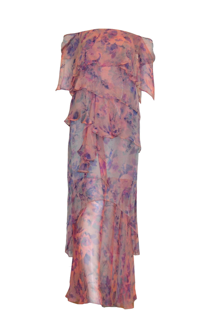 Sale: Private Label Floral Column Gown