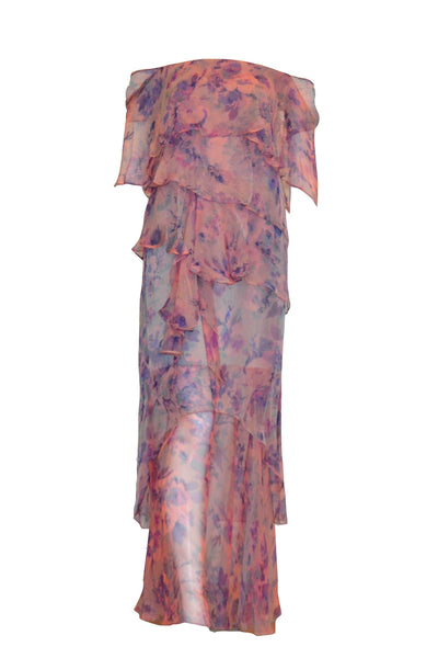 Rent: Private Label Floral Column Gown