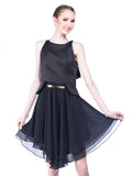 Peggy Hartanto - Buy: Black Petals Dress-The Dresscodes - 2