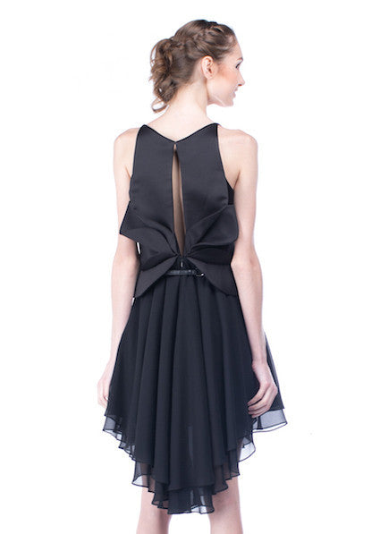Peggy Hartanto - Buy: Black Petals Dress-The Dresscodes - 1