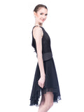 Peggy Hartanto - Buy: Black Petals Dress-The Dresscodes - 3