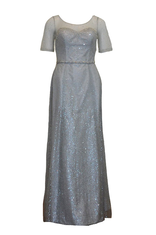 Rent : Private Label - Grey Shimmery Gown