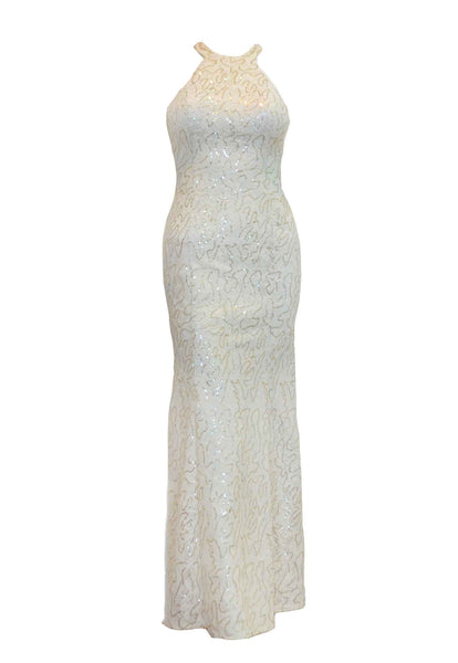 Rent: Private Label - White Halter Dress