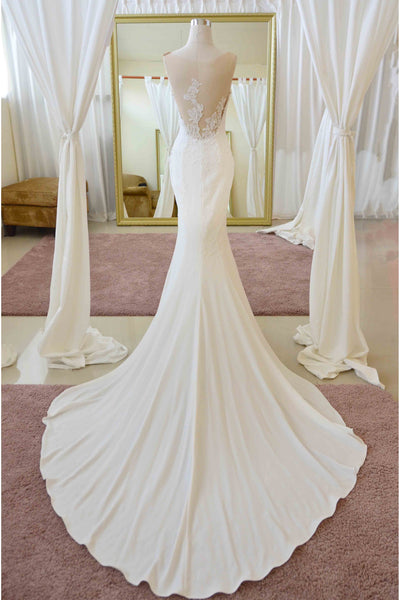 Rent: Pronovias - Sweetheart Sleeveless Mermaid Wedding Dress