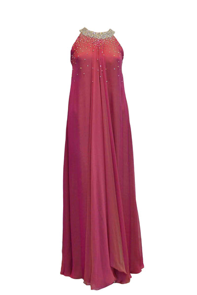 Rent: Rika Sulaiman - Halter Pink Long Dress with Sequins