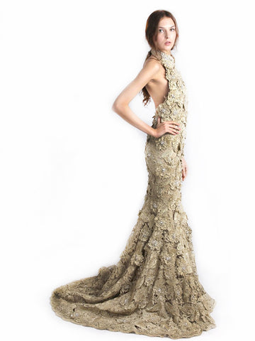 Buy: Golden Mermaid Cheongsam