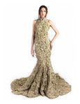 Rina Sugiri - Buy: Golden Mermaid Cheongsam-The Dresscodes - 3