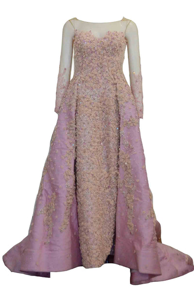 Sale: Sapto Djojokartiko - Long Sleeves A Line Gown