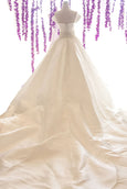 Buy : Sebastian Sposa - Wedding Satin Ball Gown with Cap Sleeves