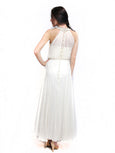 Red by Sebastian Gunawan - Buy: Grecian White Chiffon Gown-The Dresscodes - 2