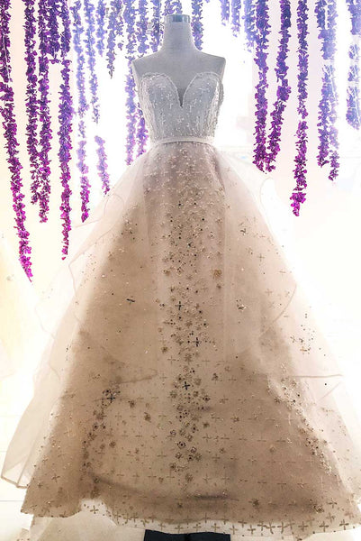 Rent : Soko Wiyanto - Sweetheart Wedding Ball Gown with Organza Skirt