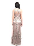 Stella Ong - Buy: Sleeveless Gown with Rhinestones-The Dresscodes - 2